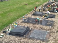Graves damaged in possible Wolverhampton cemetery vandalism