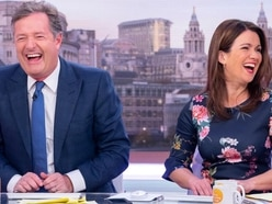 Piers Morgan joshes with Susanna Reid over her love life