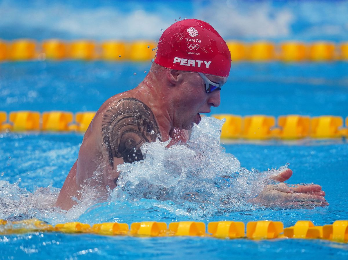 Great Britain's Adam Peaty in action