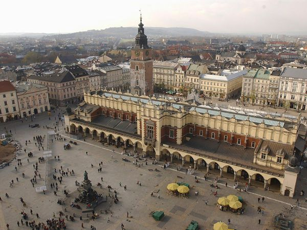 The Polish city of Krakow