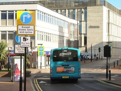 £70,000 in three months: 2,300 drivers caught by one bus lane camera