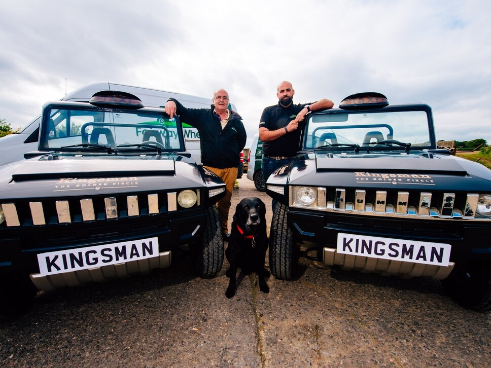 Bridgnorth buggies take centre stage at Kingsman world premiere