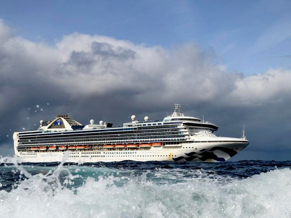 Grand Princess Pulls Into California With Coronavirus Cases