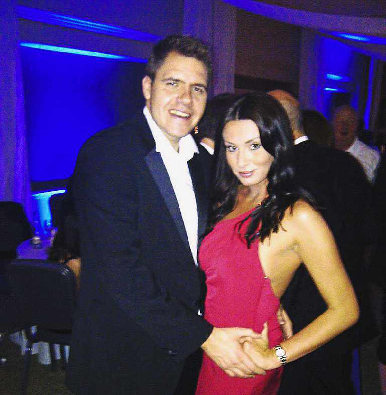 Wolverhampton company boss Jason Guy with Lucy