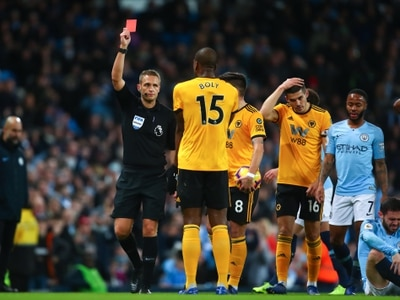 No appeal from Wolves against Willy Boly red card