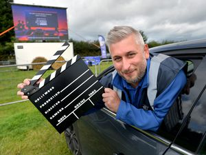 Nick Ricketts and his company Blue Hire have brought the drive-in cinema experience to Penkridge