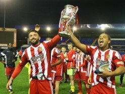 Benbow stars as the Glassboys lift trophy