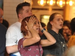 Wolves fans pack city-centre pubs to watch devastating defeat - GALLERY