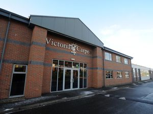 FEATURES BUSINESS PIC DAVID HAMILTON EXPRESS AND STAR COPYRIGHT Exterior at Victoria Carpets, Kidderminster.