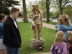 In Pictures: National Living Statue competition comes to the Bard's home town