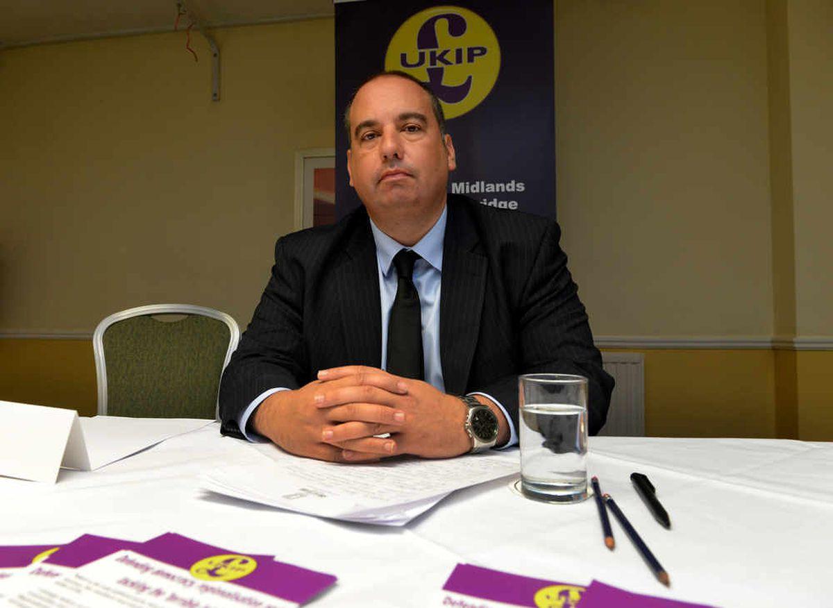 UKIP MEP Bill Etheridge was unsurprised