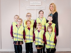 Jackets donation helps road safety