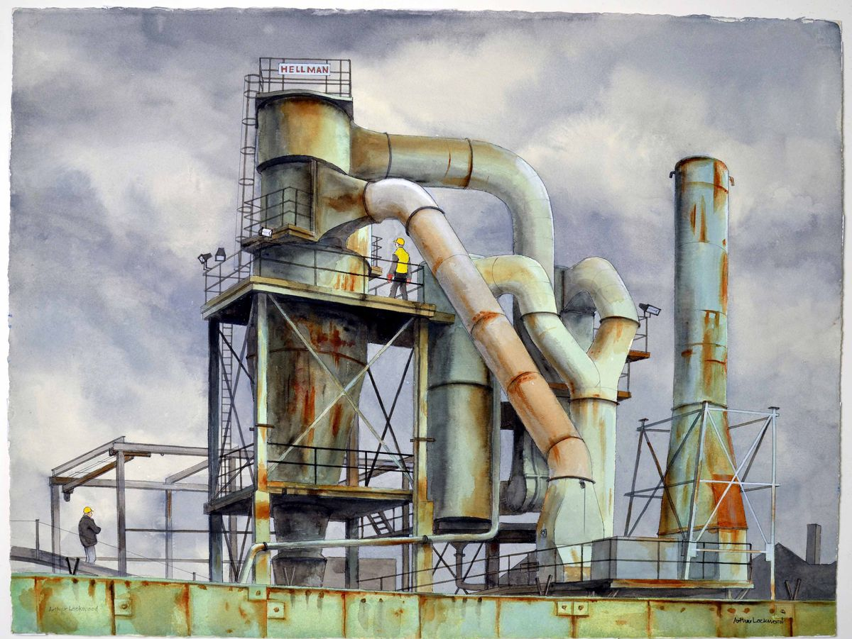 A scrap-metal recycling plant in Rabone Lane, Smethwick, in 2006-08