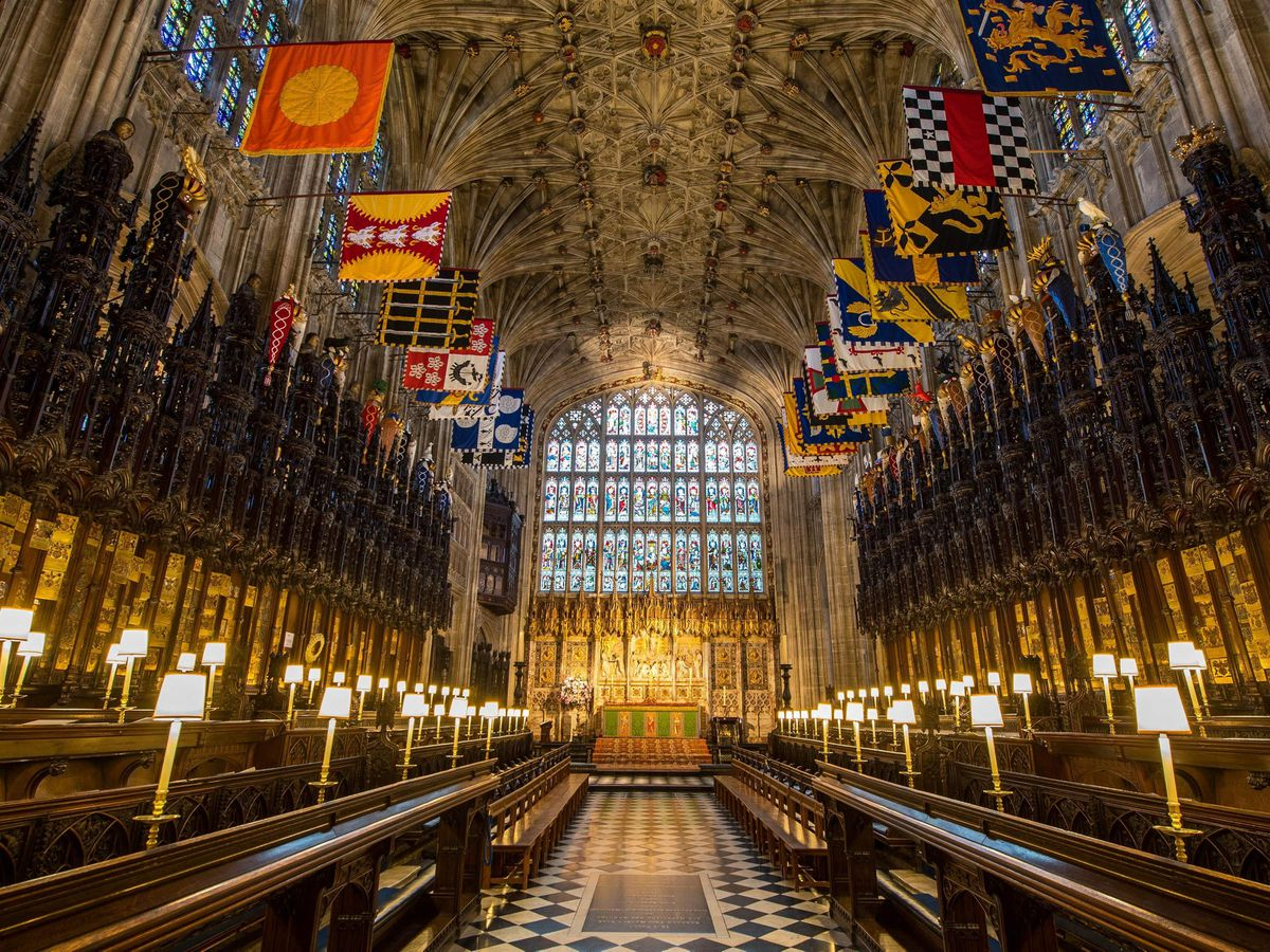 The Quire in St George's Chapel at Windsor Castle