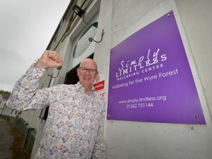 Simply Limitless chief Paul Raper celebrates the National Lottery award