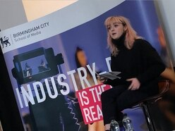 Game Of Thrones star Maisie Williams arrives at Birmingham City University for talk