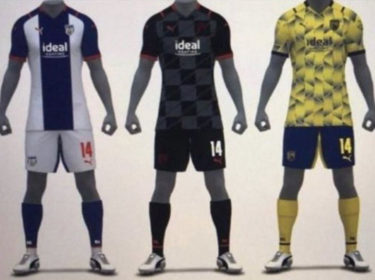 Images emerge of potential West Brom kit for 2021/22 season ...