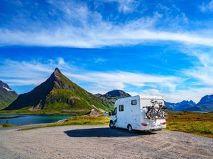 Motorhome vacations can make a classic British summer holiday