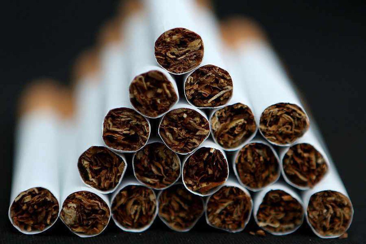 A stock photo of cigarettes