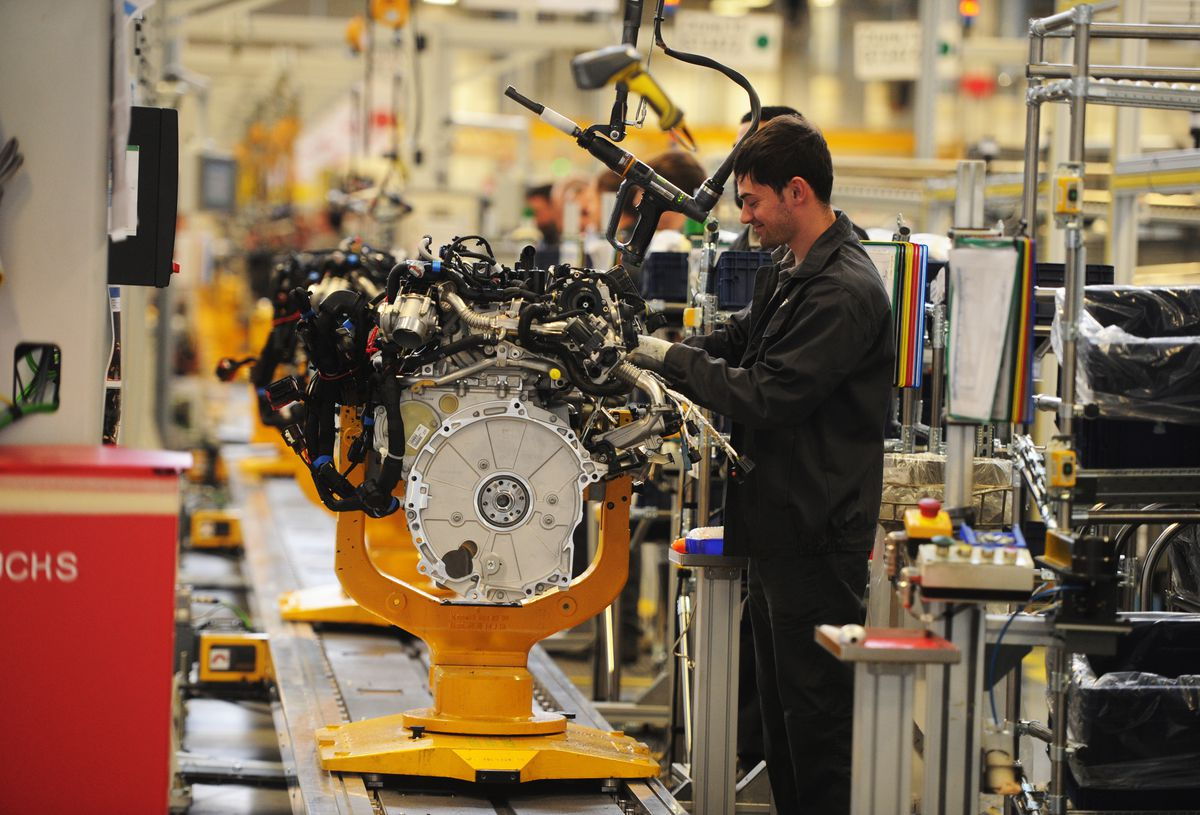 Inside the i54 engine plant, where more than 1,000 people work