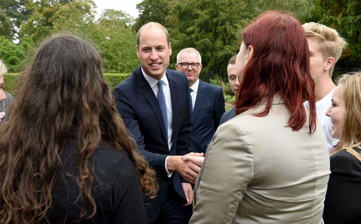 Holocaust Educational Trust ambassadors meet the Duke