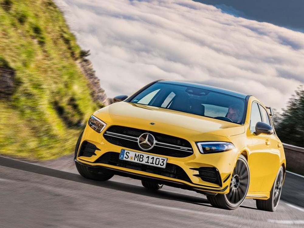 A35 revealed! Meet the new 'entry level' AMG