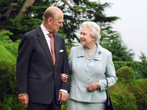 The Duke of Edinburgh with the Queen. Photo: Fiona Hanson/PA Wire