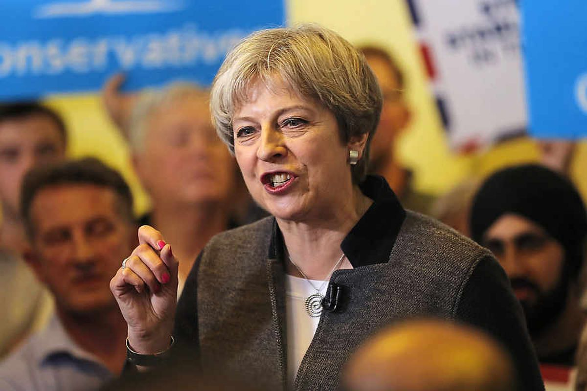 'Stay off my lawn Prime Minister': Local unimpressed as Theresa May targets Black Country