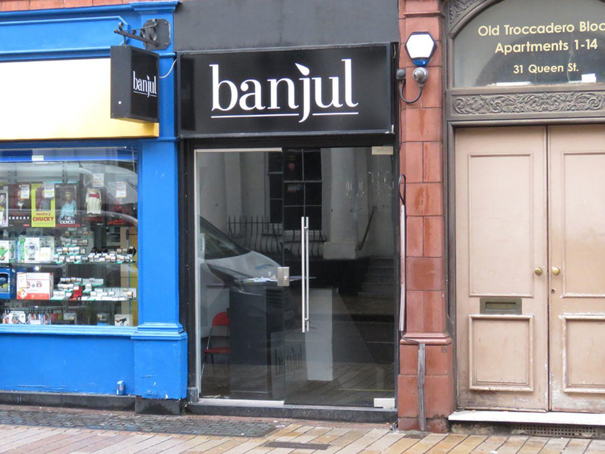 Banjul nightclub, in Queen Street, Wolverhampton