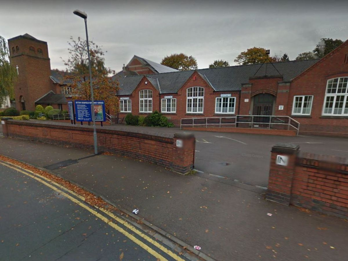 Sutton Coldfield Methodist Church used to home a toddlers group