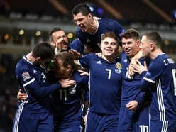 James Forrest nets Nations League hat-trick as Scotland seal Euro 2020 play-off