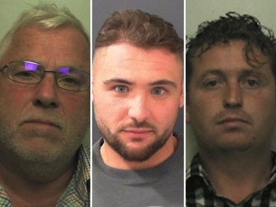 JAILED: Travellers conned vulnerable elderly victims out of £160k