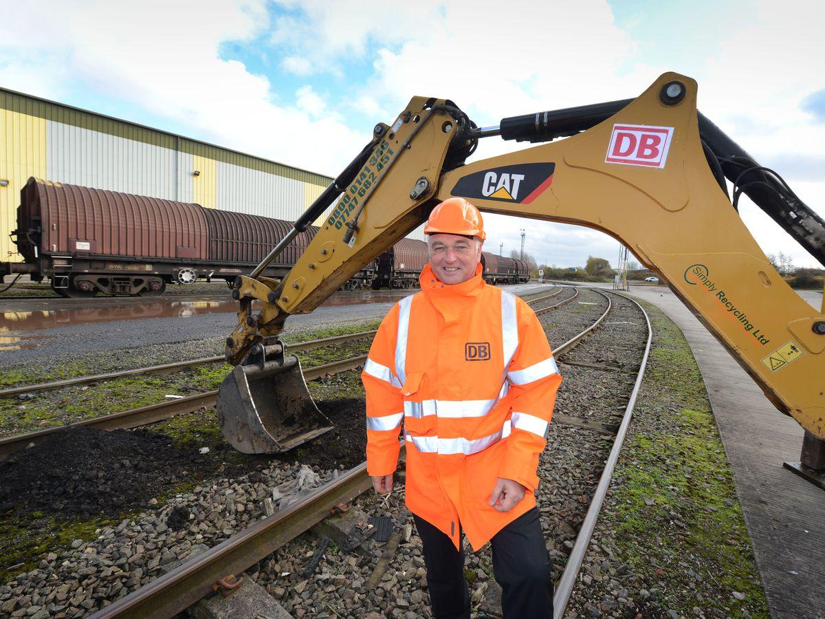 Ground is broken on £6m steel terminal expansion in Wolverhampton