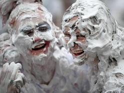 Students gear up for giant foam fight at St Andrews