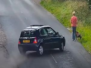 Patricia Faulkner was flung into the air and her beloved dog Millie was killed after they were run down by Kallum Aish