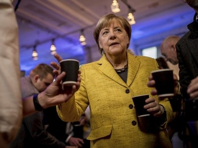 Merkel bids for fourth term as Germans go to the polls