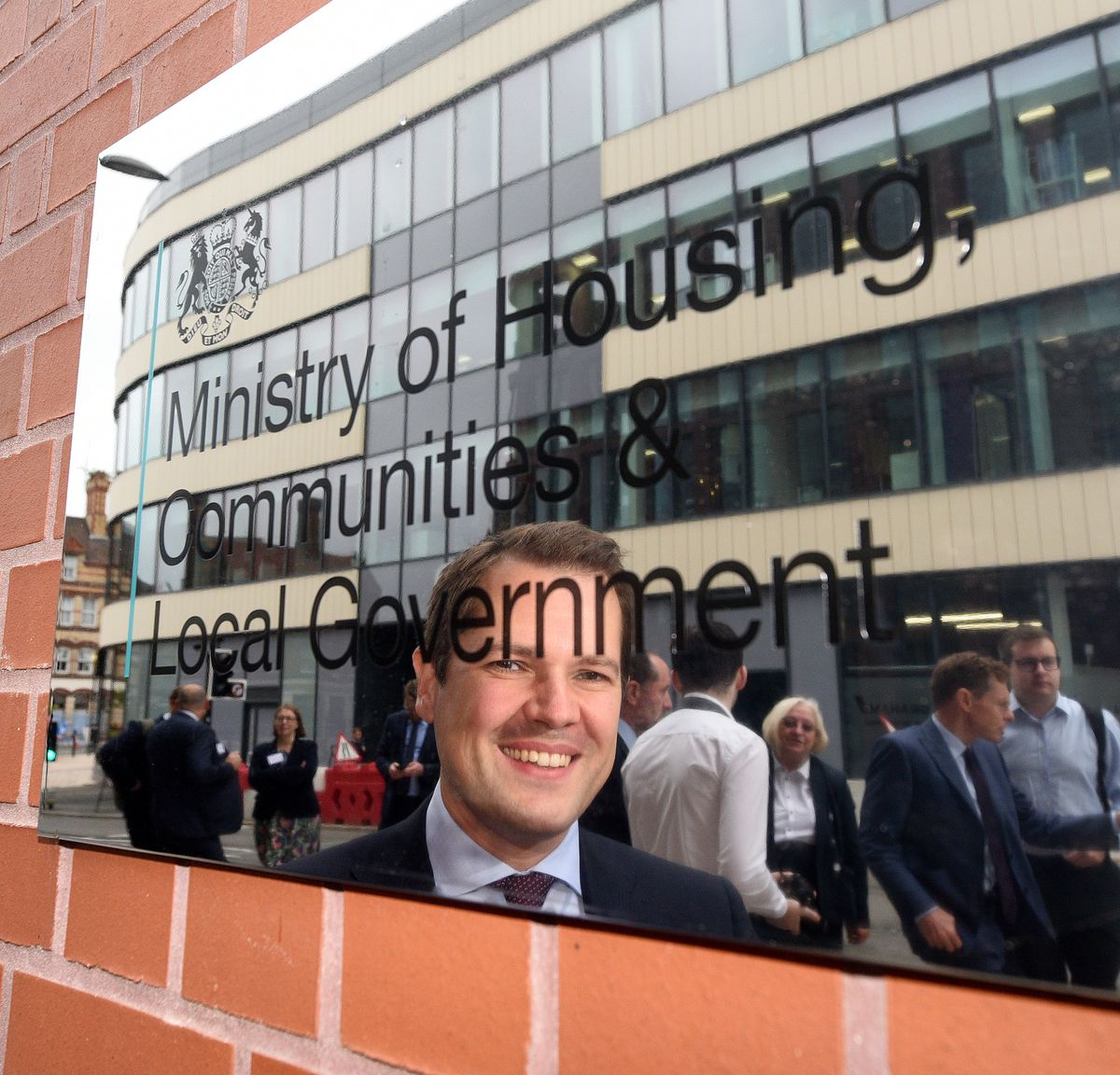Robert Jenrick was in Wolverhampton earlier this month for the official opening of the new MCHLG office at the i9 building