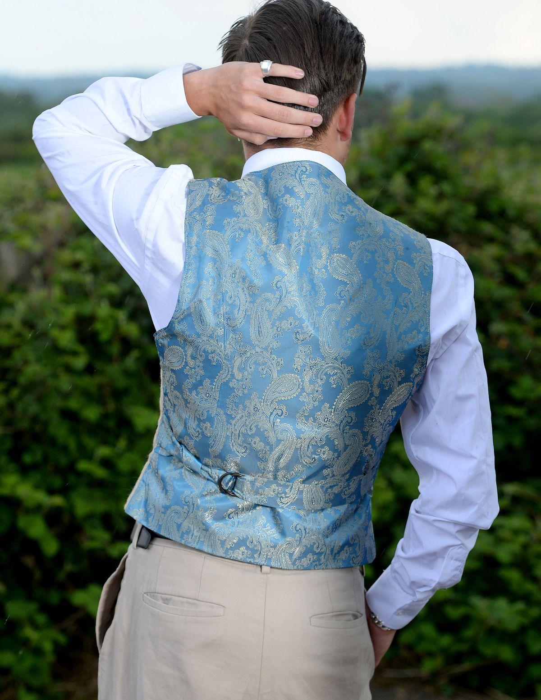 Jordan showcases his sought-after waistcoats