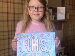 Colourful creations helping bring in hundreds of pounds for NHS fundraiser