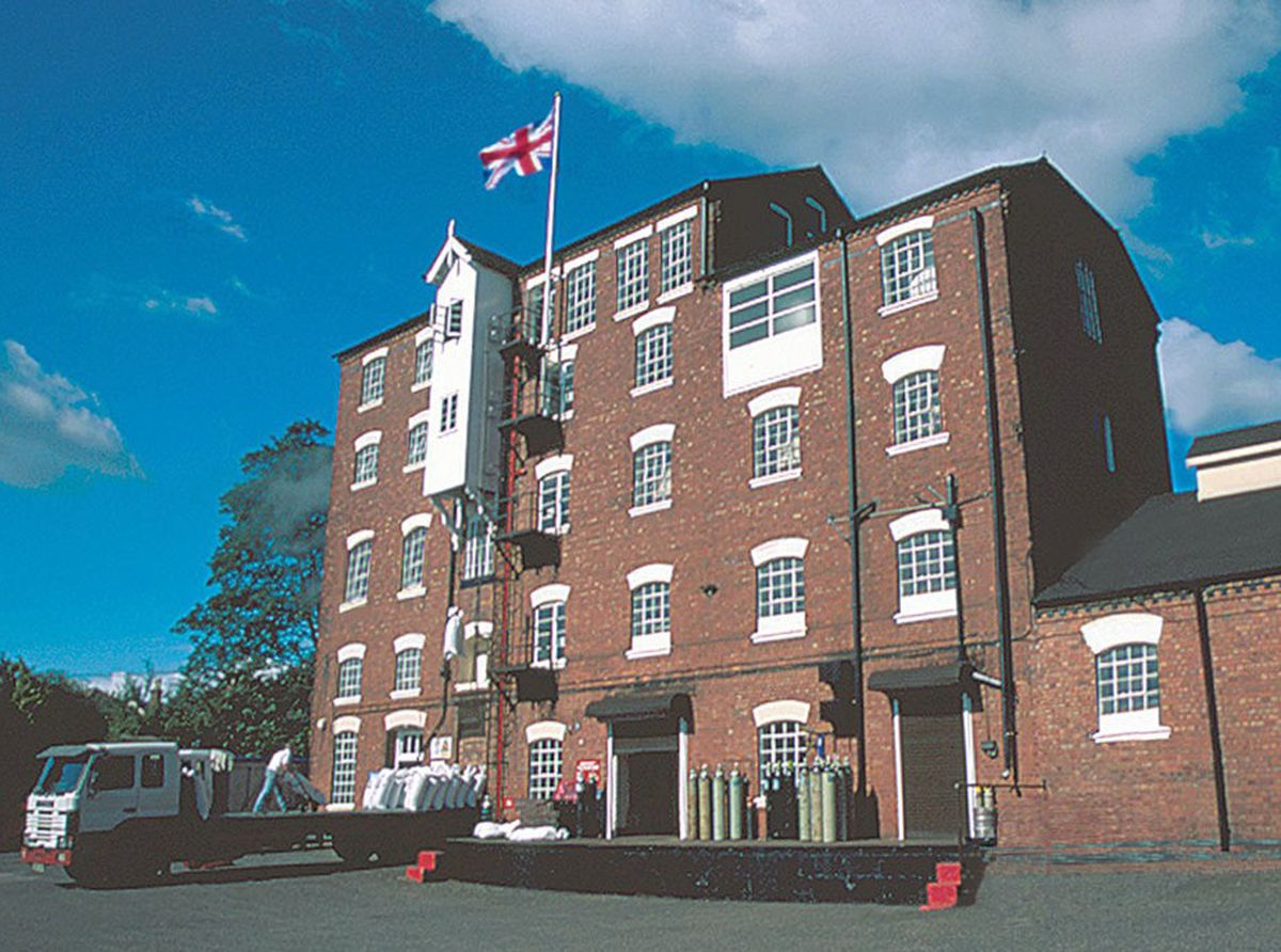 The former Highgate Brewery, in Sandymount Road, Walsall