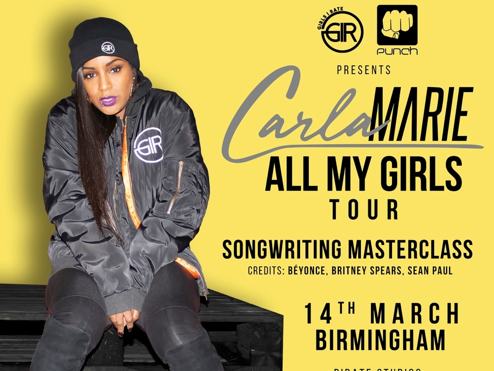 Multi-platinum selling songwriter t deliver masterclass in Birmingham for Women's History Month