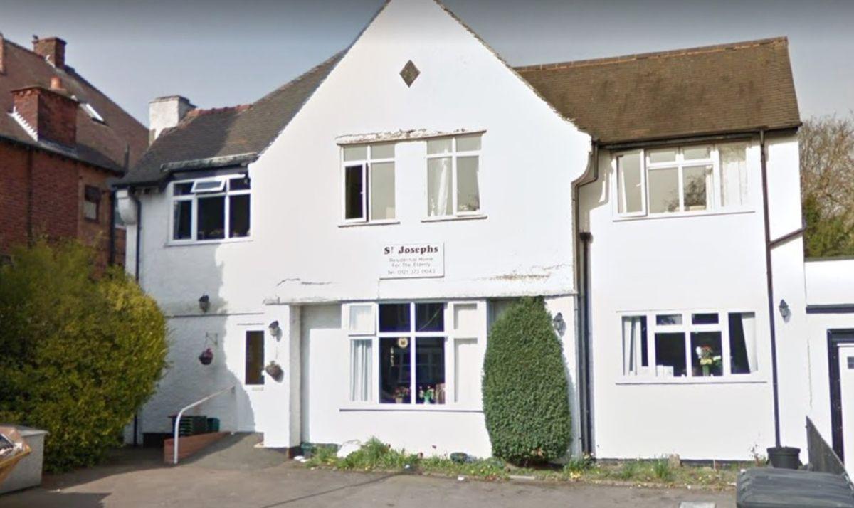 St Josephs care home - image courtesy of Google Street View
