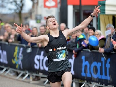 Crowds turn out in show of 'fantastic support' for Stafford Half Marathon