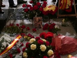 Supporters remember Spain's General Franco amid plans to exhume him