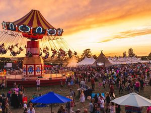 All the fun of the fair – a vintage fairground is at the heart of The Big Feastival. Left, Craig David headlines the main stage on Saturday night