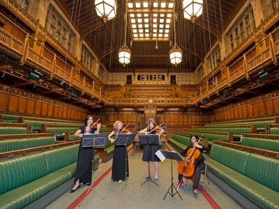 Chamber music: parliamentary string quartet brings harmony to the Commons