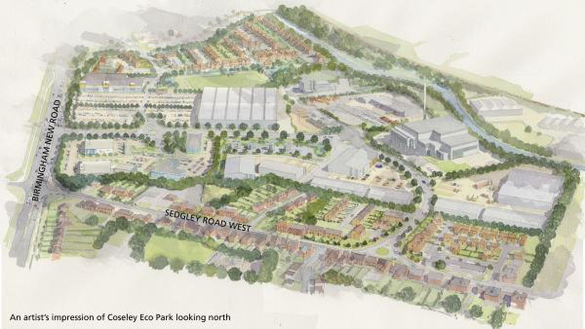 What the Coseley Eco Park plans looked like in 2011