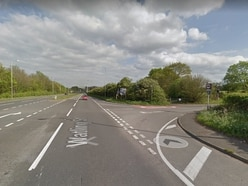Three men injured in A5 crash in Great Wyrley