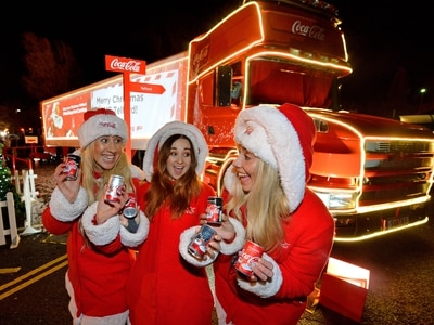 Coca-Cola Christmas truck to visit Black Country