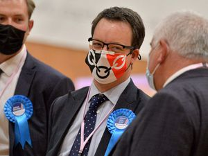 Conservative Dudley MP Mike Wood relishes a successful election for the Tories in the Black Country